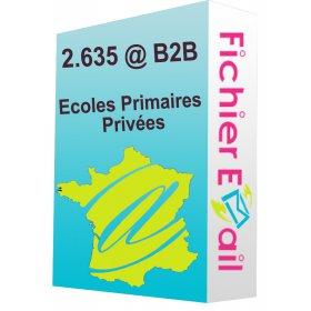 Fichier des Ecoles Primaires Privées