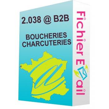 BOUCHERIES, BOUCHERIES-CHARCUTERIES (DETAIL)