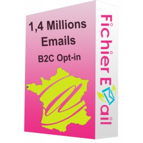 1,4 Millions Emails France Particuliers B2C Opt-in