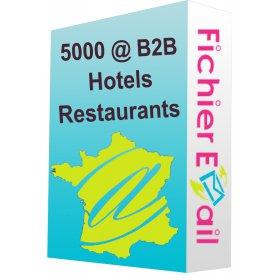 Base Hotel restaurant France qualifié B2B