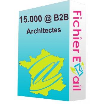 15.000 Architectes qualifié - France B2B