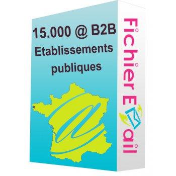 Etablissements publiques qualifié - France B2B