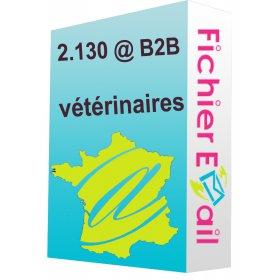 Fichier e-mails des vétérinaires
