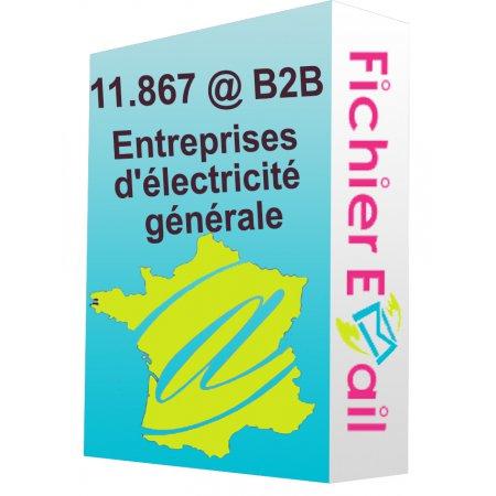 Fichier Entreprises d'électricité générale
