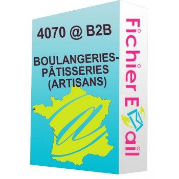 BOULANGERIES-PÂTISSERIES (ARTISANS)