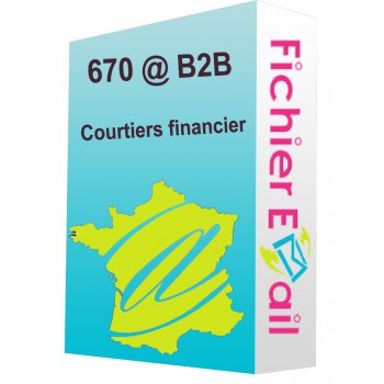 Fichier des courtiers financier