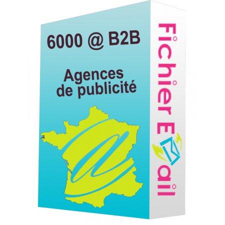 Fichier des agences de publicité