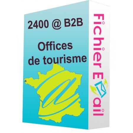 Fichier des offices de tourisme