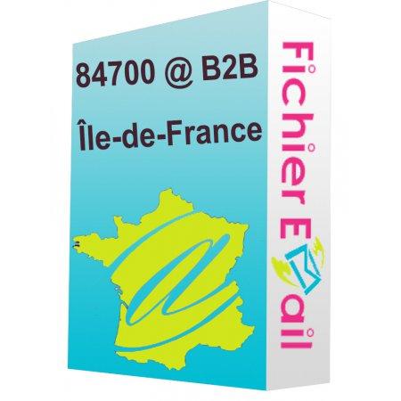 Île-de-France B2B - Emails Entreprises Qualifiés
