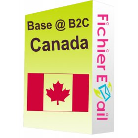 Base Email Canada - 3 Millions emails