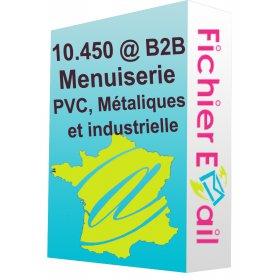 Entreprises de menuiserie: PVC, Métaliques et industrielle